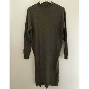Allsaints Size 2 Long Sleeve Turtle Neck Sweater